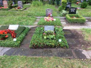 Grabgestaltung / Instandsetzung Südfriedhof Leipzig