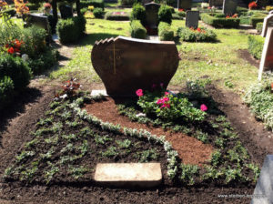 Grabgestaltung Friedhof Liebertwolkwitz Doppelgrab
