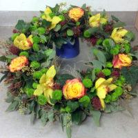 Blumen und Gestecke der Floristen der Blumenhalle.
