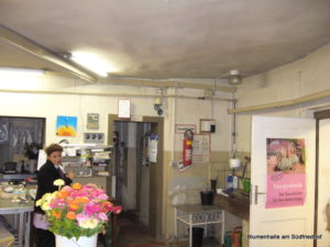 Die Blumenhalle vor dem Umbau