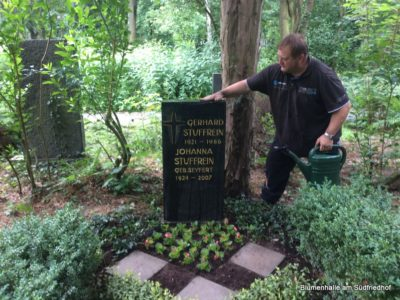 Pflegemaßnahmen Neugräber – Grabpflege Leipzig