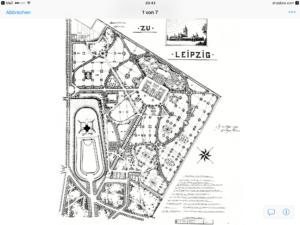 Südfriedhof Leipzig 1910