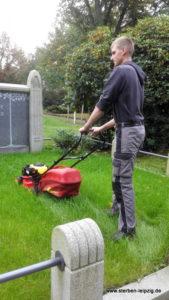 Thema: Grabpflege Leipzig - Grabbpflege Leipzig - Das Rasen mähen