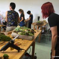Trauer-Floristik-Seminar Moose: 31.08.2017