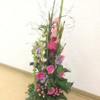Floristische Arbeiten anlässlich der 25 Jahr-Feier des BSZ-Wurzen