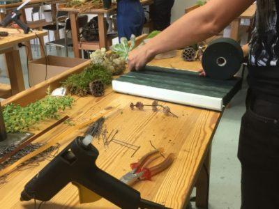 Seminar bei Schuster Floristenbedarf – Thema Moos