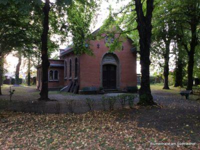 Der Friedhof in Paunsdorf