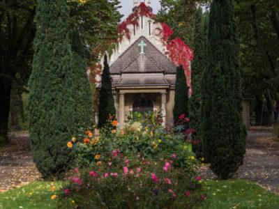 Der Friedhof in Sellerhausen