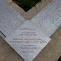 Kurt Masur-Ehrengrab der Stadt Leipzig 2017