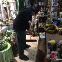 Praktikanten und Lehrlinge der Blumenhalle