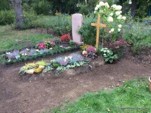 Friedhof Sellerhausen - Grabgestaltung