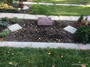 Grabgestaltung U2-Rab. Südfriedhof