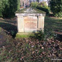 Historische Grabstelle auf dem Friedhof Sellerhausen