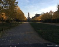 Südfriedhof Leipzig im Herbst 2018