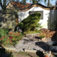 Blumenhalle am Südfriedhof - Friedhof Großpösna - Grabpflege