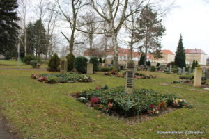 Friedhof Holzhausen - Städtische Seite