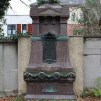 Grabstätte Bleicherts - Friedhof Gohlis