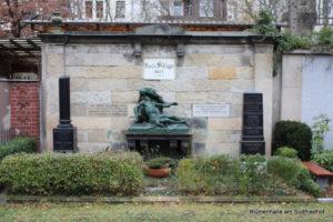 Grabstätte von Schlippe - Friedhof Gohlis