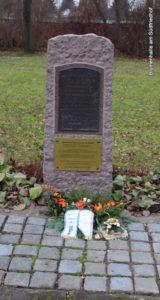 Gedenkstein an Gefallene der Völkerschlacht - Friedhof Möckern