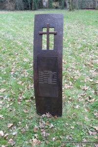 Gedenktafel für italienische Soldaten - Ostfriedhof