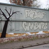 Friedhofsmauer Connewitz