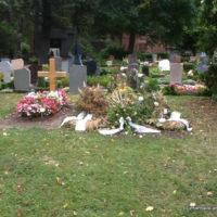 Leipzig Nordfriedhof Grabgestaltung