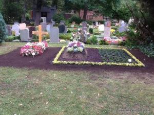 Leipzig Nordfriedhof Grabpflege