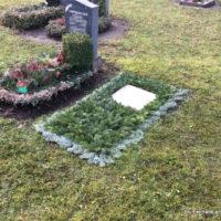 Vorbereitung zur Trauerfeier in Connewitz