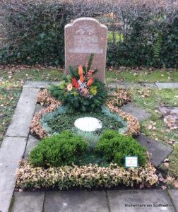 Blumenlieferung zum Friedhof Kleinzschocher