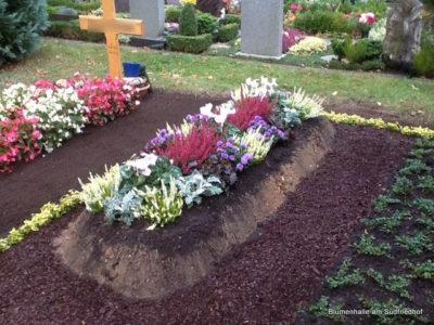 Nordfriedhof Leipzig Grabpflege