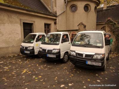 Der Transport – Grabpflege Leipzig