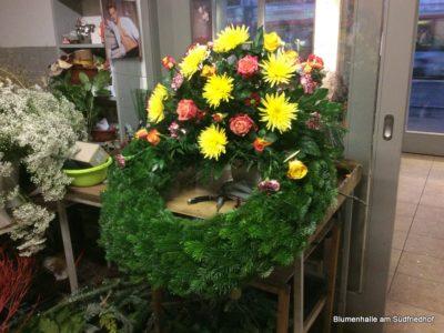 Floristik – Der gewickelte Kranz