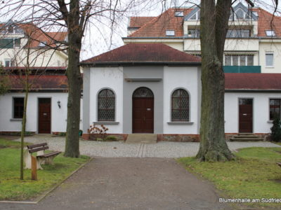 Der Friedhof in Möckern