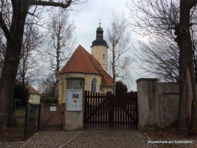 Der Friedhof in Störmthal