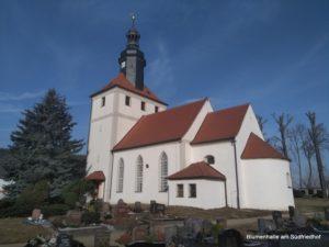 Friedhof Threna - Kirche