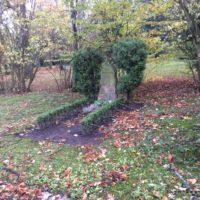 Grabpflege - Das Säubern der Gräber nach dem Sturm