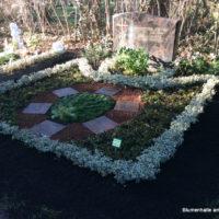 Die Erdauffüllung - eine Leistung der Grabpflege