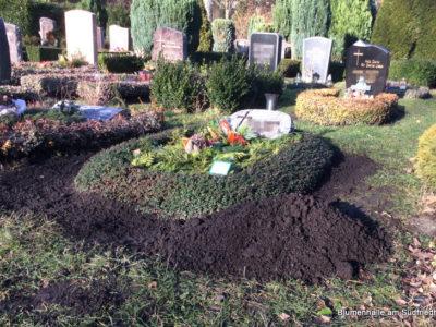 Erdauffüllung – Grabpflege Leipzig