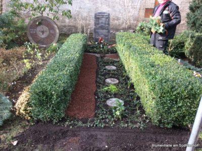 Friedhof Plagwitz Grabgestaltung