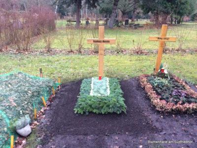 Leipzig Südfriedhof Grabpflege