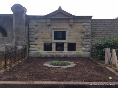 Die Erbbegräbnisstelle, die Wahlstelle, die Wandstelle