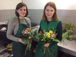 Floristik Ausbildung - Schüleraustausch - Gäste aus Frankreich