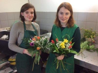 Floristik – Schüleraustausch – Gäste aus Frankreich in Leipzig