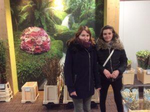 Schüleraustausch Floristik