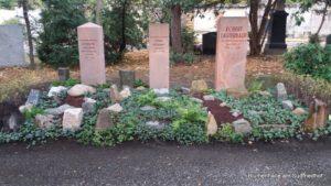 Geologengräber Einweihung Credner
