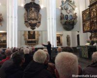 Die feierliche Festveranstaltung zu Ehren Prof. Credner begann am 24. Oktober 2018 um 13 Uhr in der Paulinum - Aula und Universitätskirche St. Pauli in Leipzig.