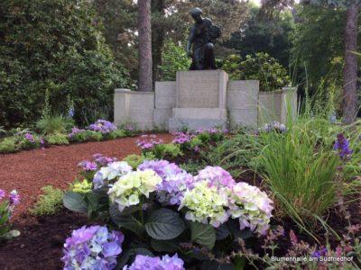 Leipzig Südfriedhof das Grabfeld der Paul-Benndorf-Gesellschaft zu Leipzig e.V.
