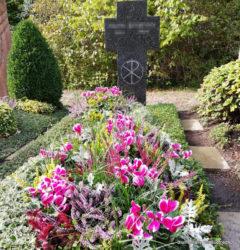 Friedhof Markkleeberg Grabpflege der Blumenhalle am Südfriedhof