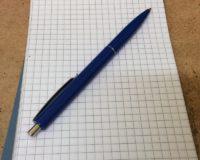 Grabskizze Schreibmaterial