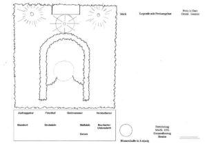 Grabskizze Finalzeichnung Symbole